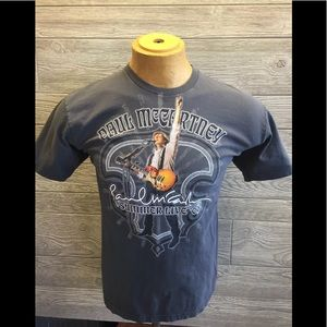 Paul McCartney Live 2009 Tour T-Shirt LG